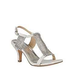 Lotus - Silver chainmail 'Aspey' sandals