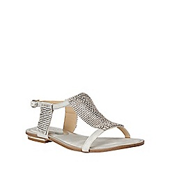Lotus - Silver chainmail 'Agnetha' sandals