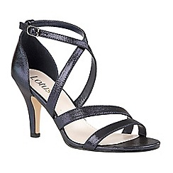 Lotus - Blue shimmer 'Gabby' high heel courts