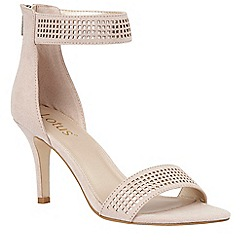 Lotus - Cream 'Elmas' ankle strap heels