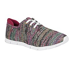Lotus - Pink multi 'Portelli' trainers