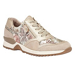 Lotus - Beige multi 'Golda' trainers