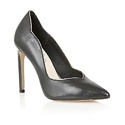 Lotus - Lotus black 'Tessa' court shoe