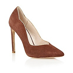 Lotus - Lotus chocolate 'Tessa' court shoe