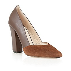 Lotus - Lotus chocolate 'Dahlia' court shoe