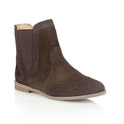 Lotus - Brown 'Rocka' ankle boots