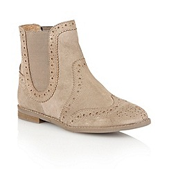 Lotus - Sand 'Rocka' ankle boots