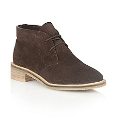 Lotus - Brown 'Venus' ankle boots