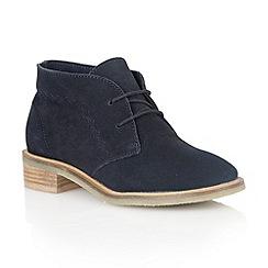 Lotus - Navy 'Venus' ankle boots