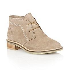 Lotus - Sand 'Venus' ankle boots