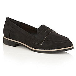 Lotus - Black 'Alyssia' loafers