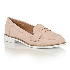 Lotus - Nude 'Alyssia' loafers