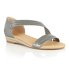 Lotus - Silver Dempsey-UK strappy sandals