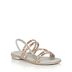 Lotus - Silver Calandra-UK strappy sandals