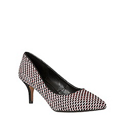 Lotus - Red 'Petra' pointed toe courts