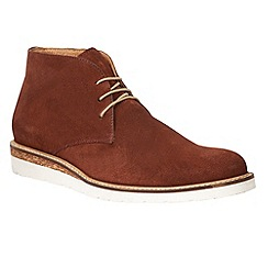 Lotus Since 1759 - Claret suede 'Laverne' chukka boots