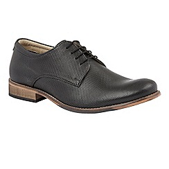 Lotus Since 1759 - Black leather 'Camden' lace up shoes