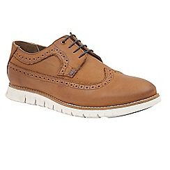 Lotus Since 1759 - Tan leather 'Holloway' brogues