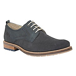 Lotus Since 1759 - Blue leather 'Hammond' lace up shoes