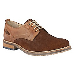 Lotus Since 1759 - Tan leather 'Hammond' lace up shoes
