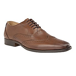 Lotus - Brown 'Bishop' lace up brogues