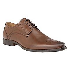 Lotus - Brown 'Birkdale' lace up smart shoes