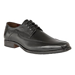 Lotus - Black 'Huntington' lace up smart shoes