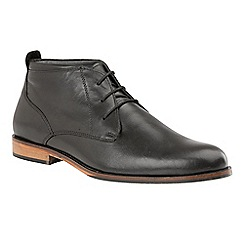 Lotus Since 1759 - Black 'Colworth' lace up smart shoes