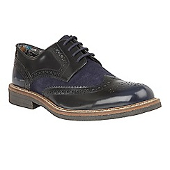 Lotus Since 1759 - Blue 'Castell' lace up brogues