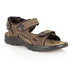 Lotus Since 1759 - Brown 'Rothbury' raft sandals