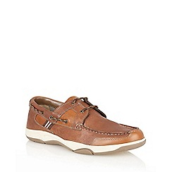 Lotus Since 1759 - Brown 'Braxton' deck shoes