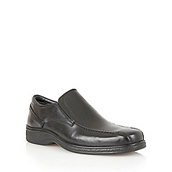 Lotus Since 1759 - Black 'Comrade' slip on shoe