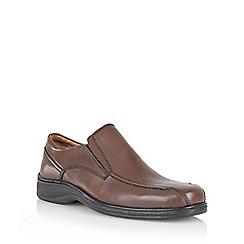 Lotus Since 1759 - Brown 'Comrade' slip on shoe