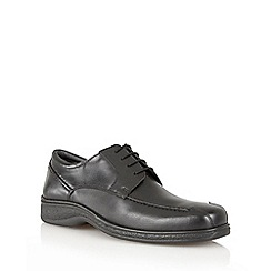 Lotus Since 1759 - Black 'Morden' lace up shoes