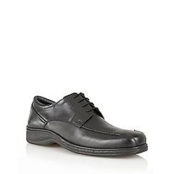 Lotus Since 1759 - Black 'Morden' lace up shoes