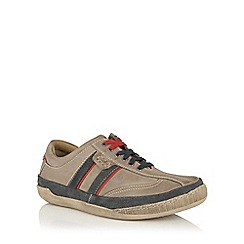 Lotus Since 1759 - Grey leather 'Cheltenham' lace up shoes