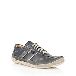 Lotus - Navy 'Cheltenham' lace up shoes