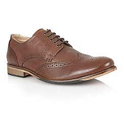 Lotus - Brown leather 'Westcott' mens shoes