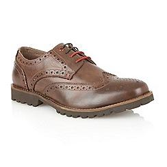 Lotus - Brown 'Dartford' mens shoes