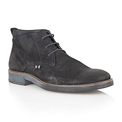 Lotus Since 1759 - Navy 'Coventry' mens boots