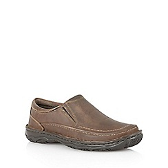 Lotus Since 1759 - Brown waxy leather 'Raviton' mens shoes