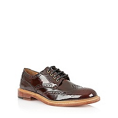 Lotus - Bordo hi shine leather 'Edward' mens shoes