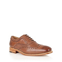 Lotus - Brown leather 'Harry' mens shoes