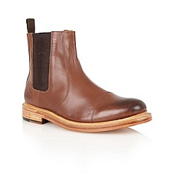 Lotus - Brown leather 'Lexton' mens shoes