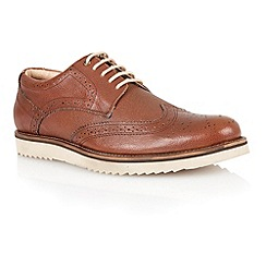 Lotus - Brown milled leather 'Sherbourne' mens shoes