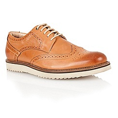 Lotus - Burnished tan leather 'Sherbourne' mens shoes