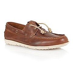 Lotus - Brown leather 'Maddock' mens shoes