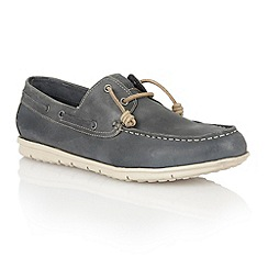 Lotus - Navy leather 'Maddock' mens shoes