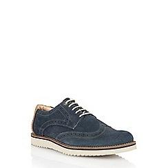 Lotus - Navy suede 'Wincanton' mens shoes