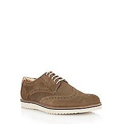 Lotus - Sage green suede 'Wincanton' mens shoes